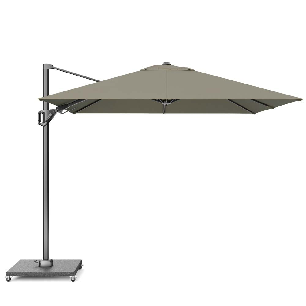 Zweefparasol Voyager T2 270x270 Taupe
