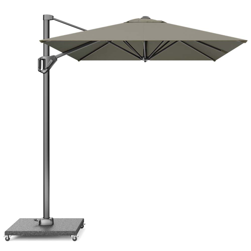 Zweefparasol Voyager T1 300x200 Taupe