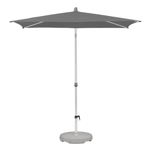 Parasol Alu-Smart easy 210x150cm (stone grey)