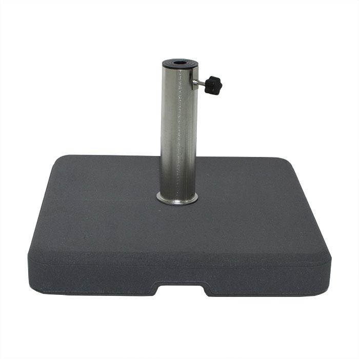 Parasolvoet beton 35kg vierkant