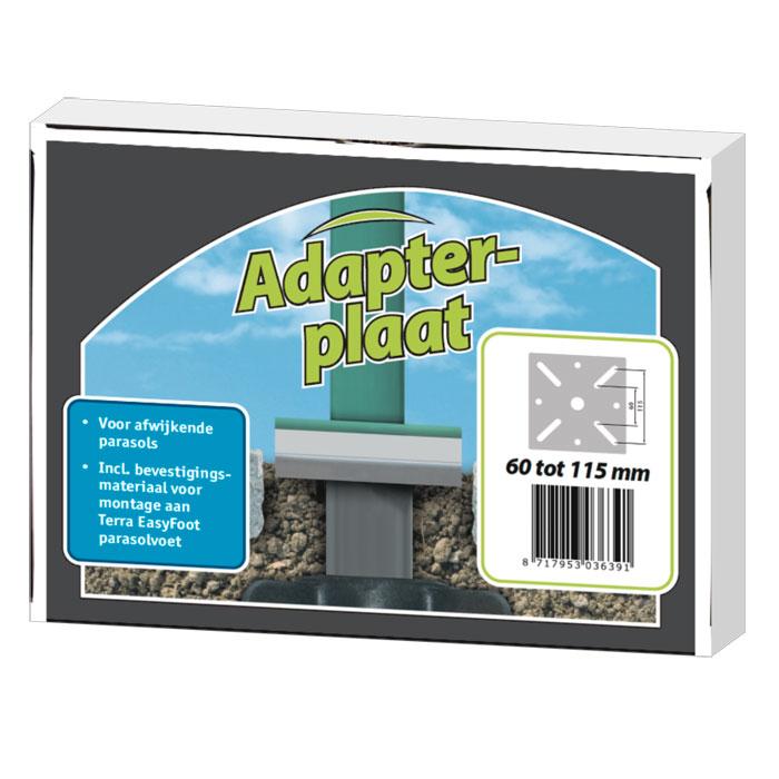Terra Easyfoot adapterplaat