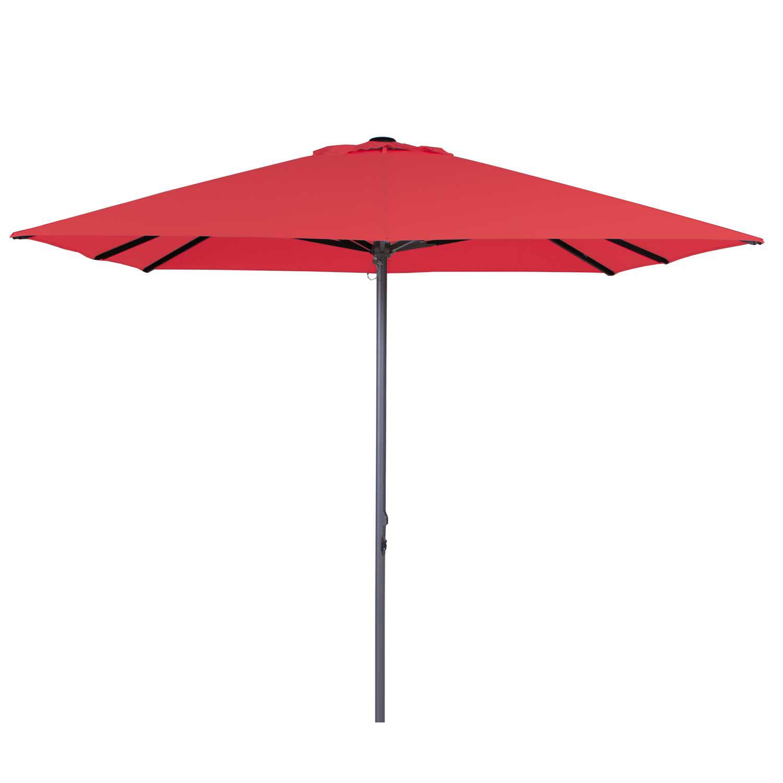 Parasol Lima 300x300cm (Brick red)