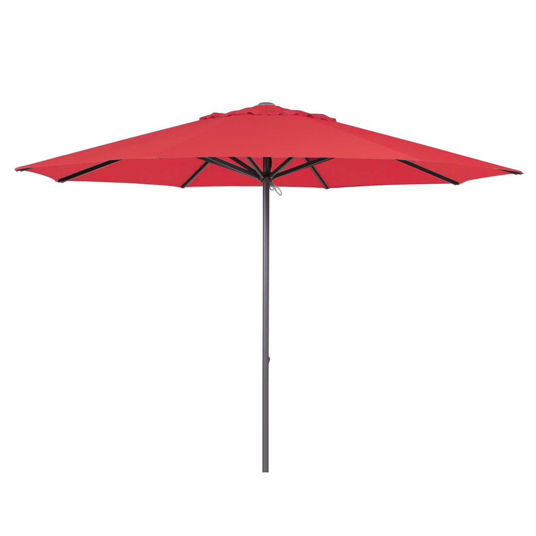 Parasol Lima 350cm rond (Brick red)
