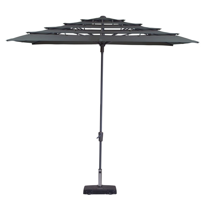 Parasol Syros open air 280x280cm (Grey)