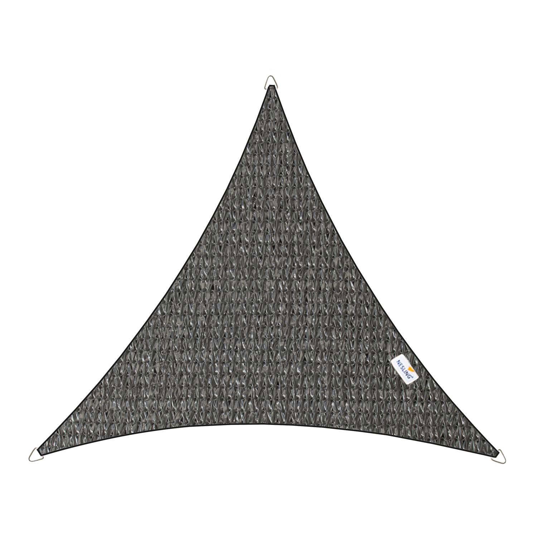 Schaduwdoek Coolfit driehoek 5m antraciet