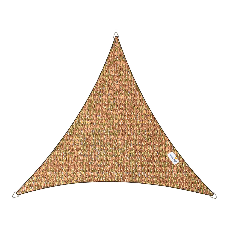 Schaduwdoek Coolfit driehoek 5m (zand)