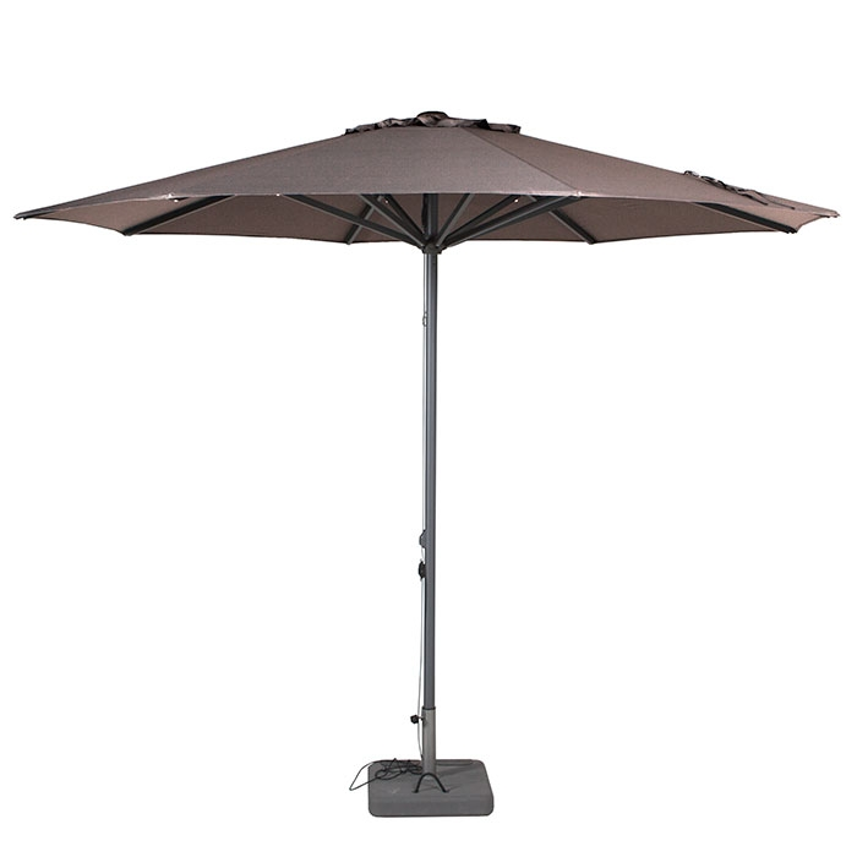 Parasol Lima 350cm rond (Taupe)