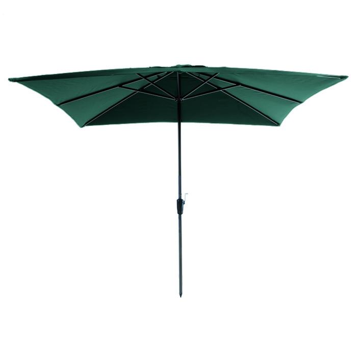 Parasol Rhodos 280x280cm (Groen)