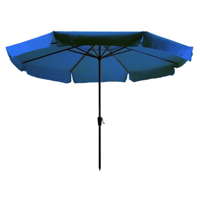 Parasol Rhodos 350cm rond (Turquoise)