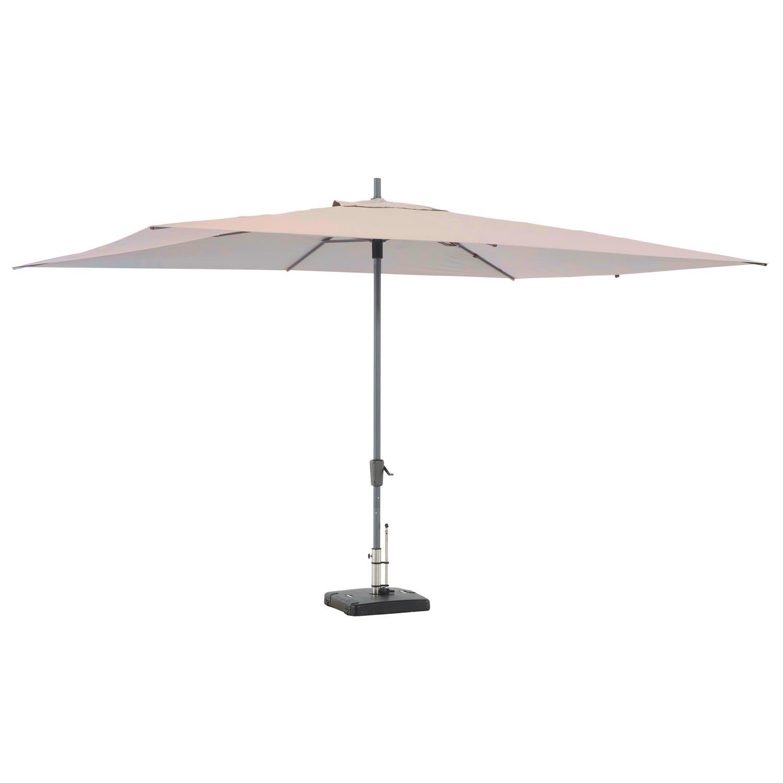 Parasol Rectangle 400x300cm (ecru)