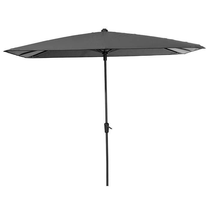 Parasol Round Corner 280x280cm (Taupe)
