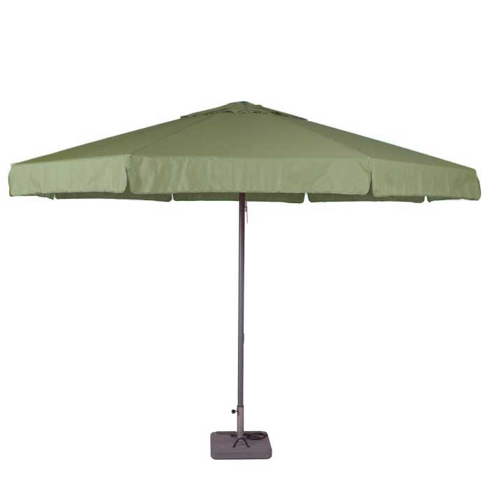 Parasol Quito 400cm rond (Sage green)