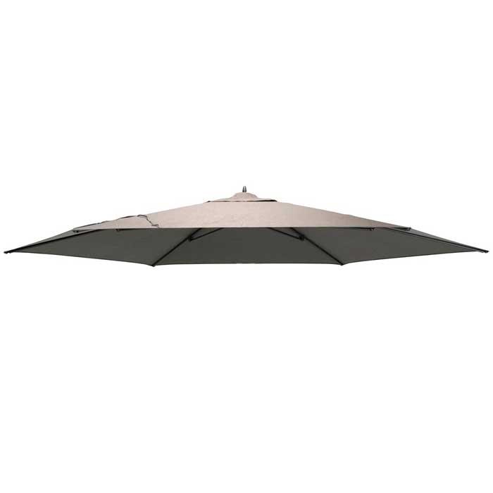 Parasoldoek Azzurro 350cm taupe