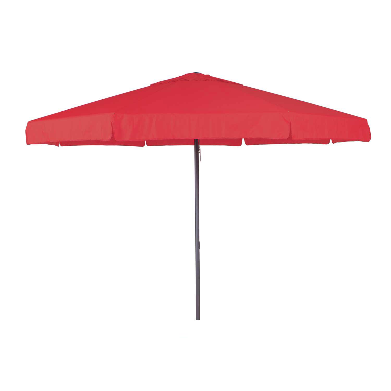 Parasol Quito 400cm rond (Brick red)