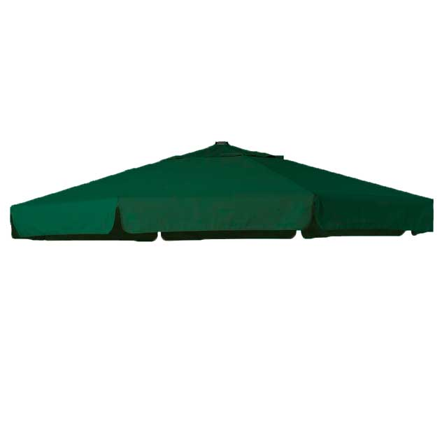 Parasoldoek Hartman Reflexion en Scope zweefparasol 350cm groen (polyester)