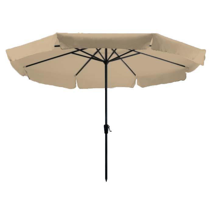 Parasol Rhodos 350cm rond (Ecru)