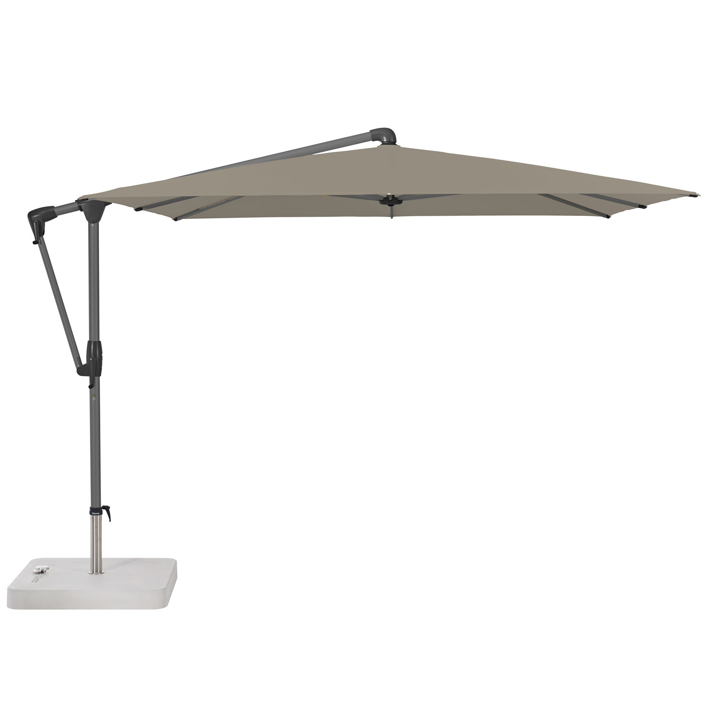 Vrijhangende zweefparasol Sunwing Casa easy 270x270cm (taupe)
