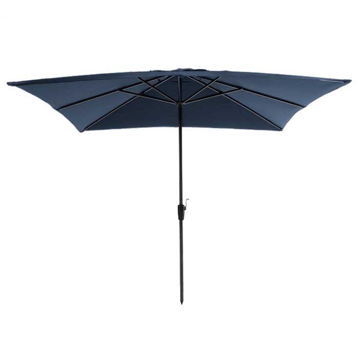 Parasol Rhodos 280x280cm (Blue)