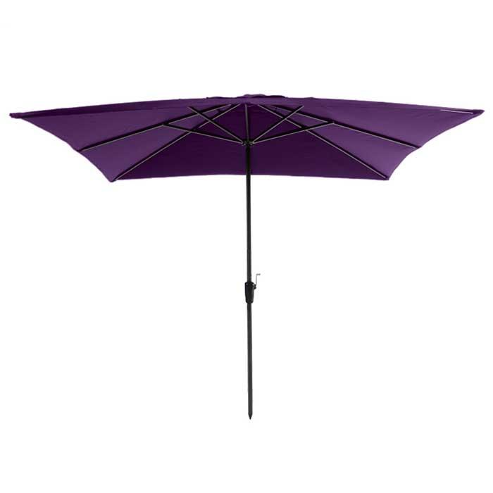 Parasol Rhodos 280x280cm (Purple)