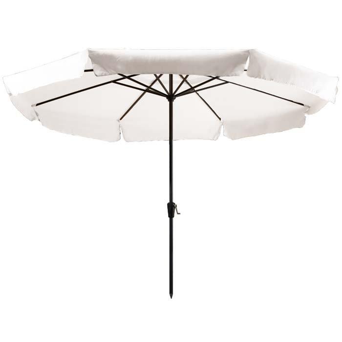 Parasol Rhodos 350cm rond (Off white)