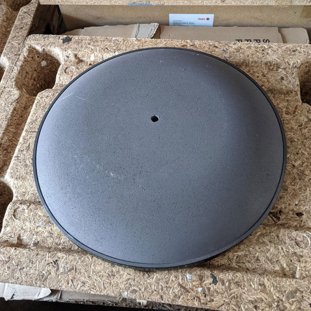 2e kansje - Parasolvoet beton/kunststof 25kg I Exclusief buis