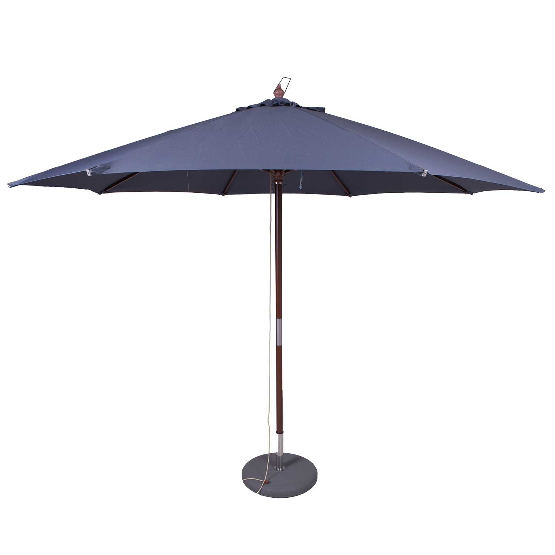 Parasol Ibiza 350cm (grijs)