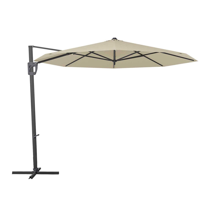 Parasol Timor 400cm (Light grey)