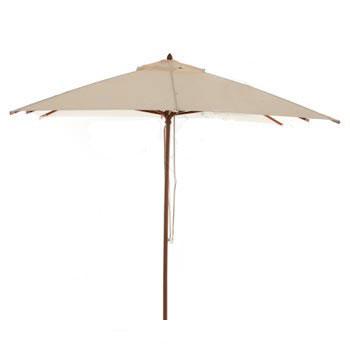 Parasol Malaga 300x300 (Ecru)