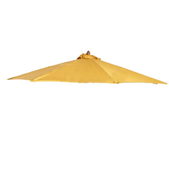 Parasoldoek Borek 200x200cm vierkant oker (olefin)