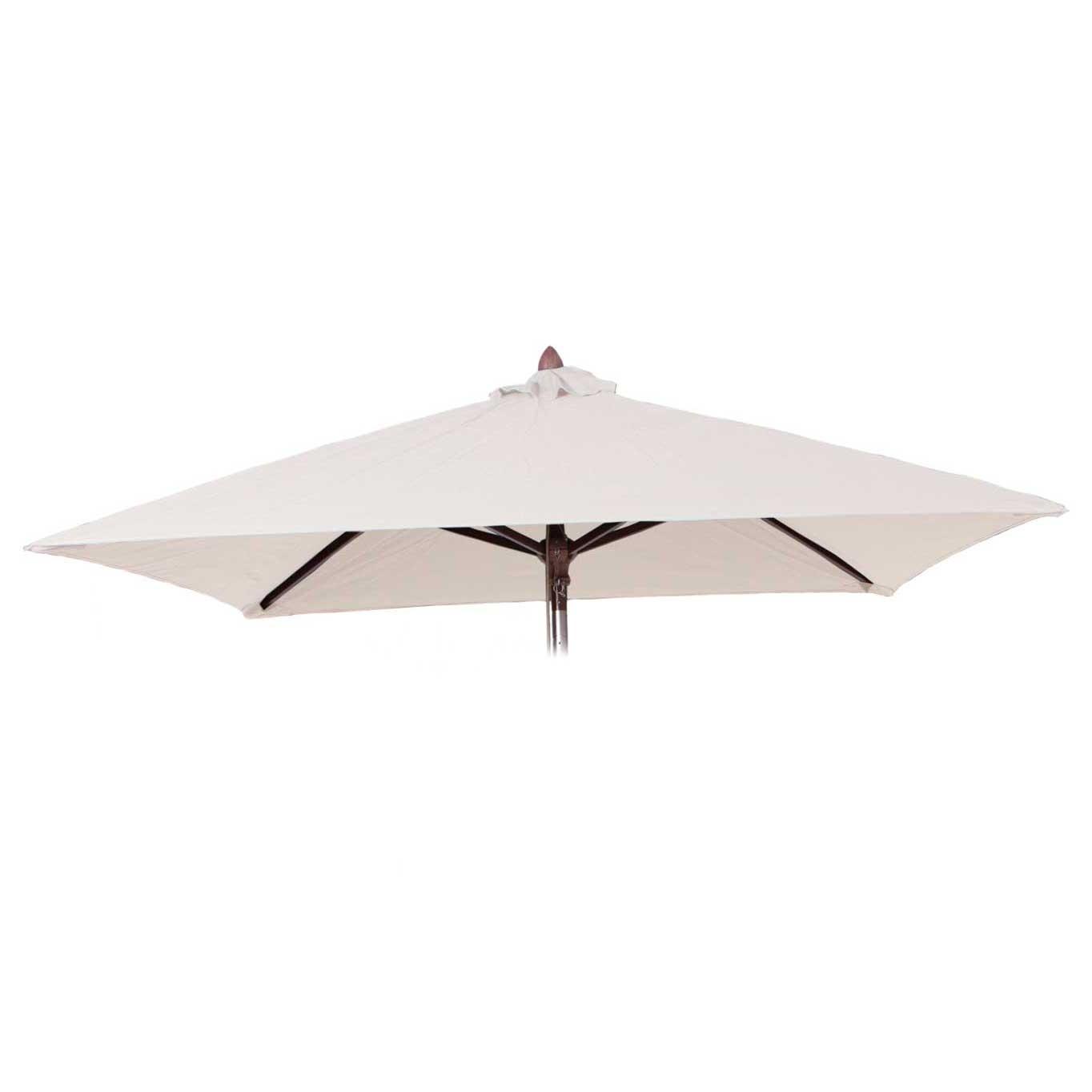 Parasoldoek Borek 200x200cm vierkant ecru (olefin)