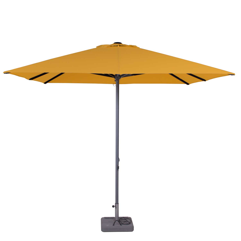 Parasol Lima 300x300cm (Golden glow)