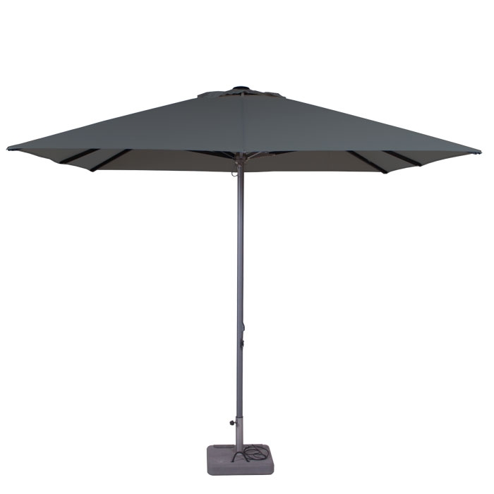 Parasol Lima 300x300cm (Grey)