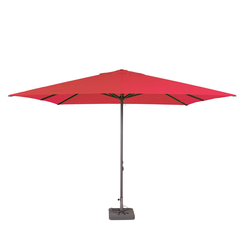 Parasol Lima 400x300cm (Brick red)