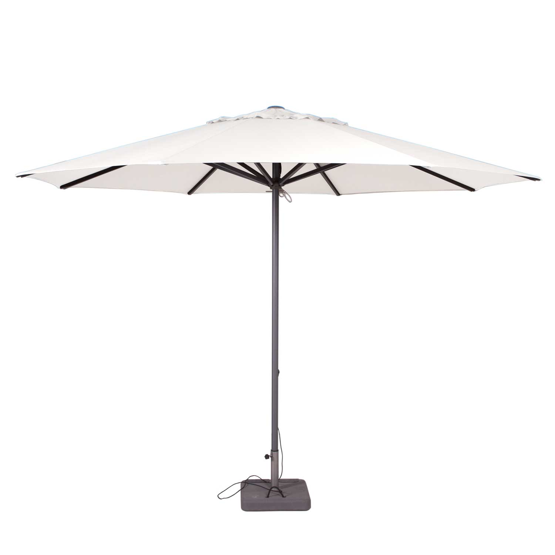 Parasol Lima 350cm rond (Off white)