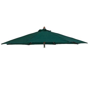 Parasoldoek Borek 200x200cm vierkant groen (olefin)