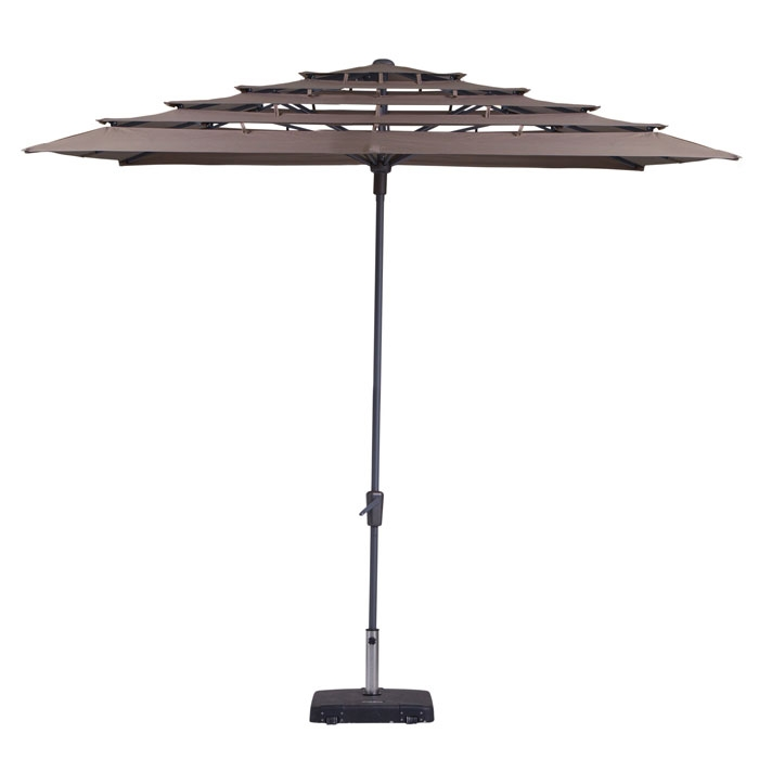 Parasol Syros open air 280x280cm (Taupe)