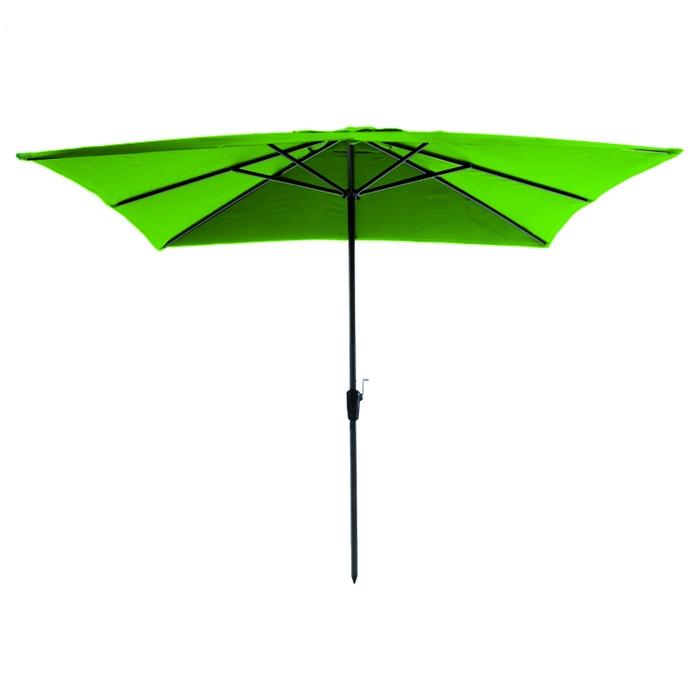 Parasol Rhodos 280x280cm (Appel groen)