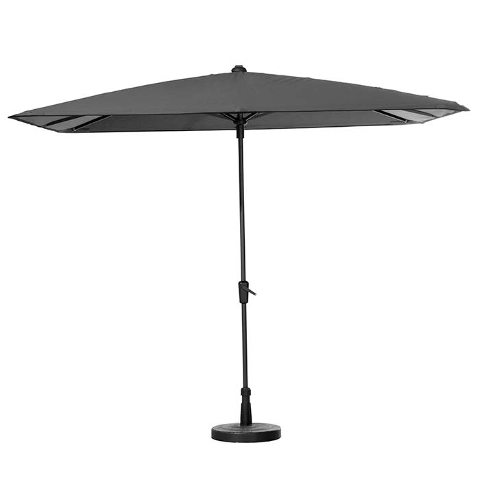Parasol Round Corner 280x280cm (Grey)