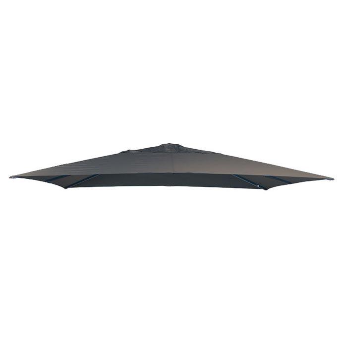 Parasoldoek Lima 400x300cm rechthoek grey