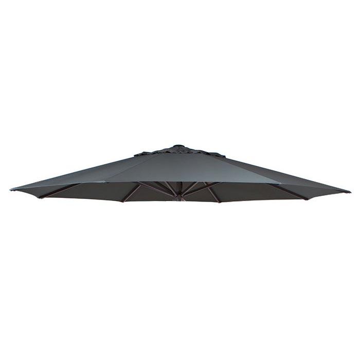 Parasoldoek Lima 400cm rond grey