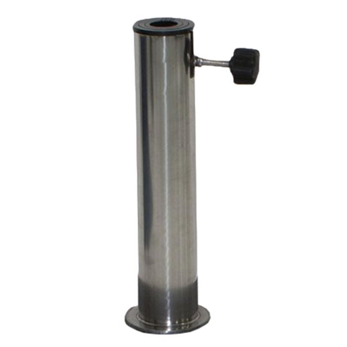 RVS buis voor granieten of betonnen parasolvoet max 70mm