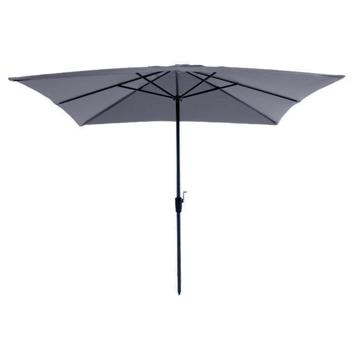 Parasol Rhodos 280x280cm (Grijs)