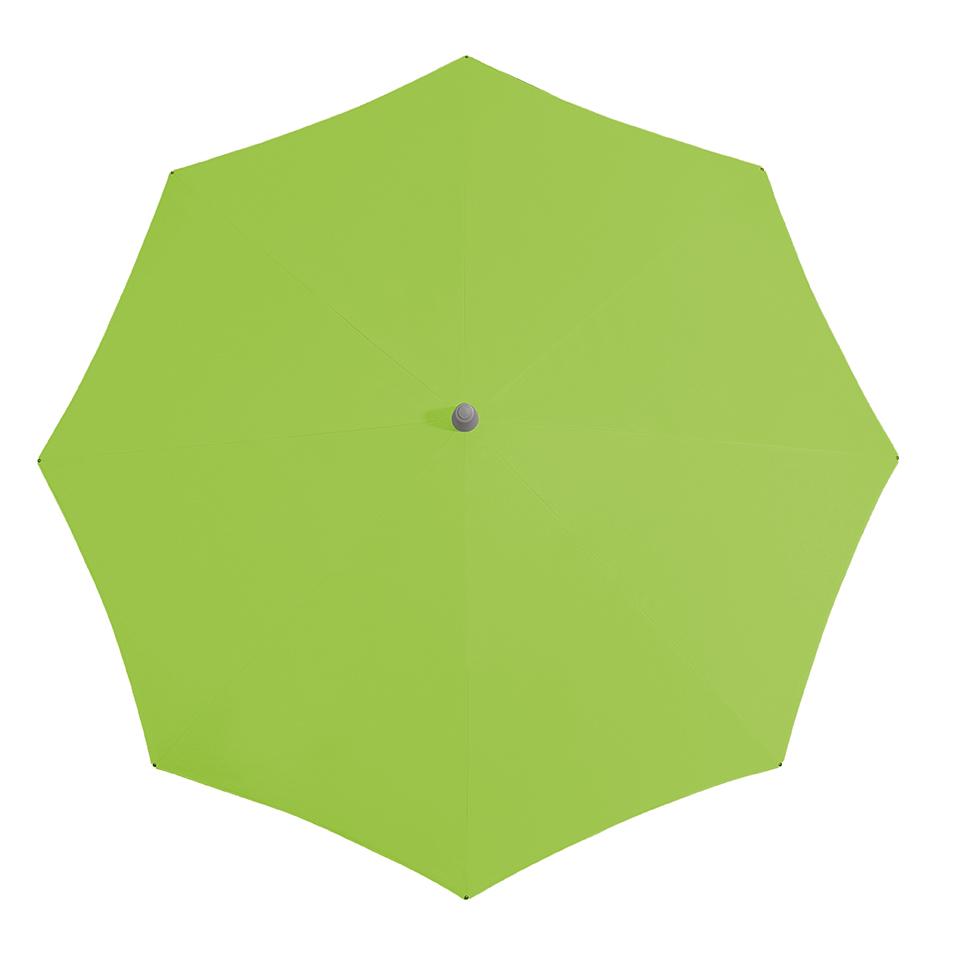 Parasoldoek Glatz Alu Smart 240x240cm vierkant stofklasse 2 kiwi