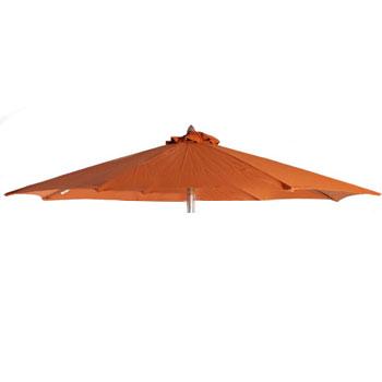 Parasoldoek Borek 200x200cm vierkant terra (olefin)