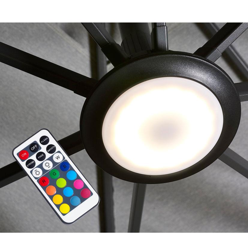 Platinum Parasol licht LED multicolor