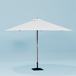 Ibiza parasol geopend