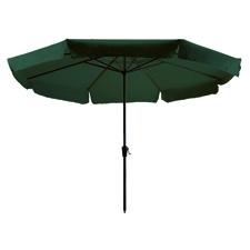 Parasol Rhodos 350cm rond (Groen)