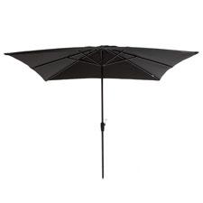Parasol Rhodos 280x280cm (Zwart)