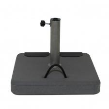 Parasolvoet beton 45kg vierkant