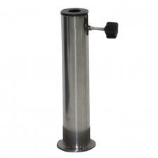 RVS buis voor granieten of betonnen parasolvoet max 55mm
